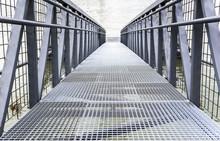 Iron Bridge Or Pier.
