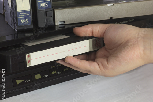 Valokuva  Cassettes and Player