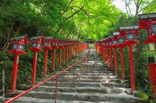 Poster Kyoto 京都 貴船神社