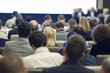 People at the Business Conference in Hall