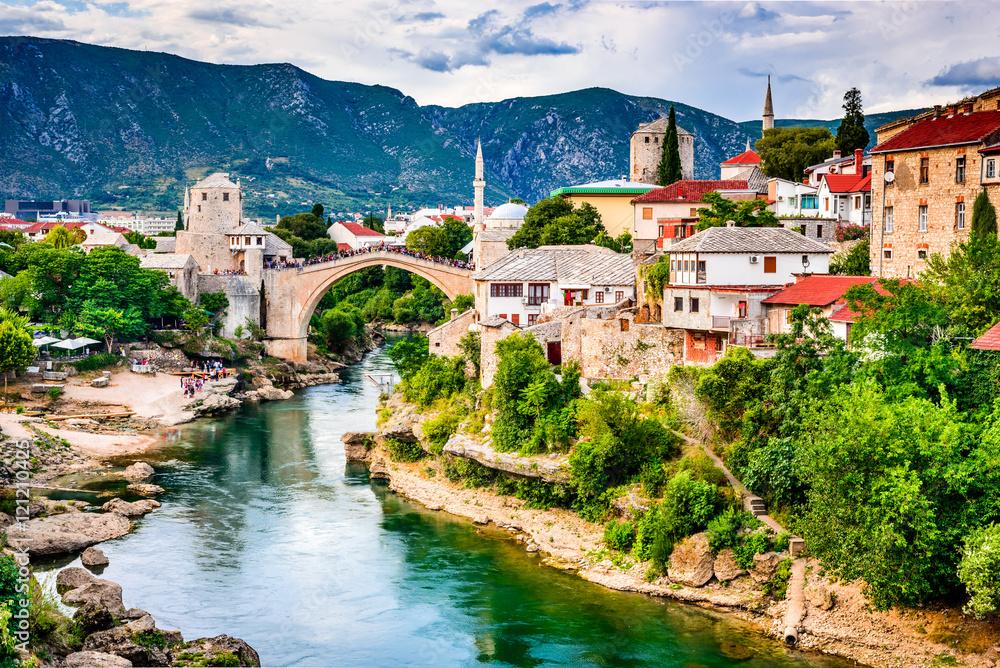 Fototapety, obrazy: Mostar, Bosnia and Herzegovina