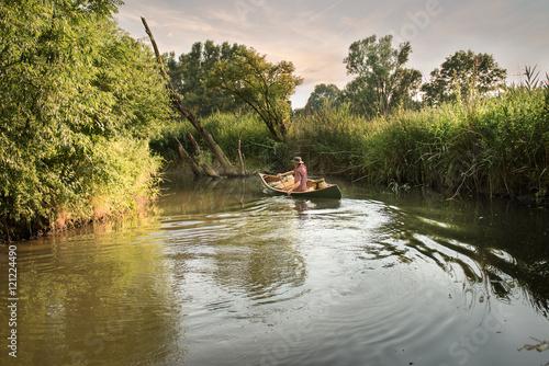 Printed kitchen splashbacks Fishing Outdoor adventure