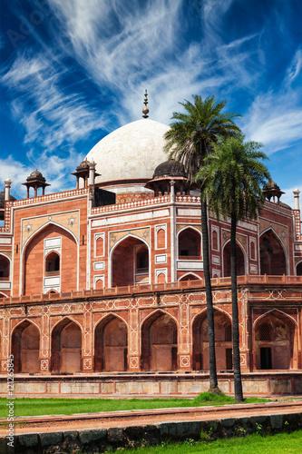 Tuinposter Delhi Humayun's Tomb. Delhi, India