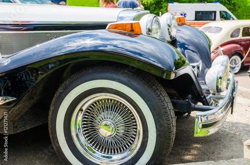 Fotografie, Obraz  Classic Vehicles Auto Show