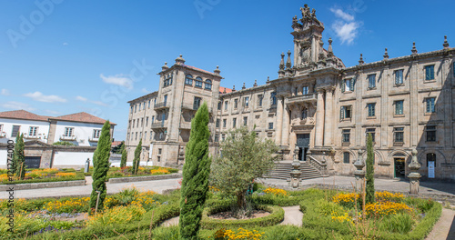 Praza da Inmaculada Universidad de Santiago de Compostela: Escuela Universitaria Fototapete