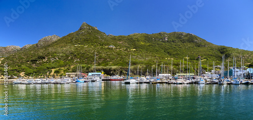 Foto op Canvas Zuid Afrika Republic of South Africa. Hout Bay (Cape Peninsula) - marina