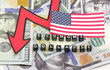 The collapse of the US economy