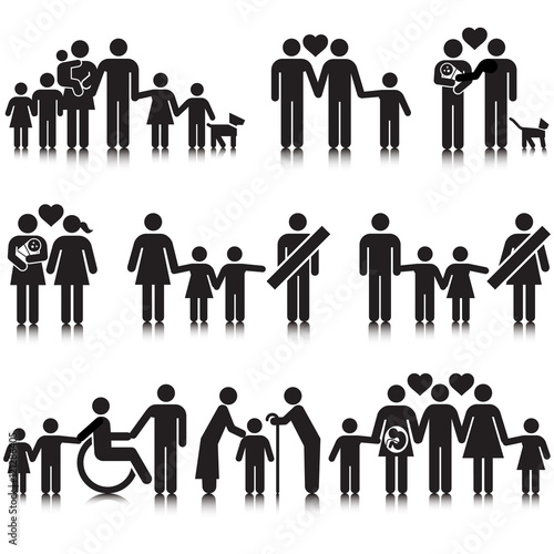 Fotografie, Obraz  Unorthodox vectored families