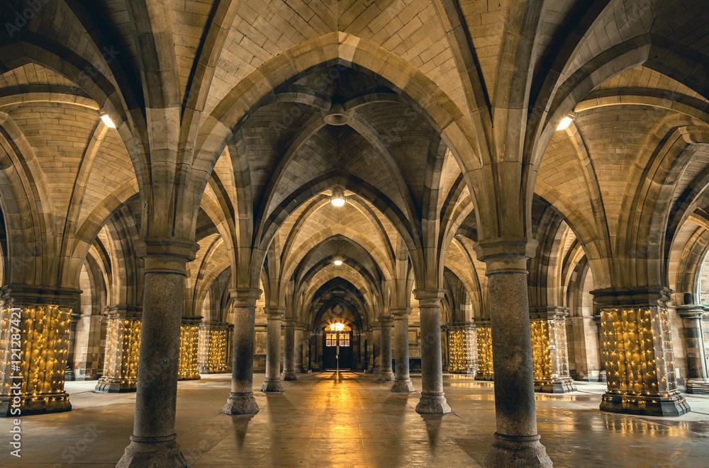 Fototapety, obrazy: Glasgow University Cloisters