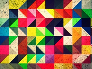 FototapetaColorful triangle abstract background