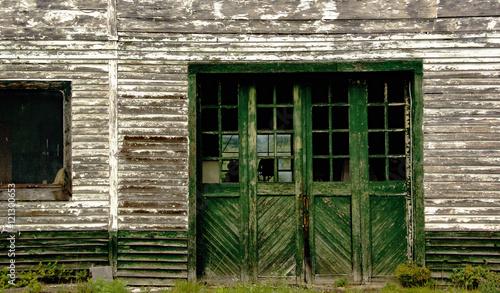 Fotografia, Obraz Long-abandoned Texaco Filling Station