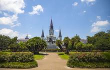 New Orleans Jackson Square, Sa...