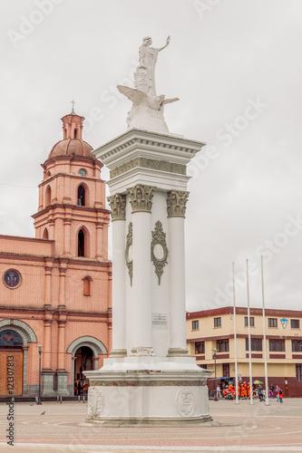 Fotografie, Obraz  Pasto City, San Juan De Pasto Officially, South America