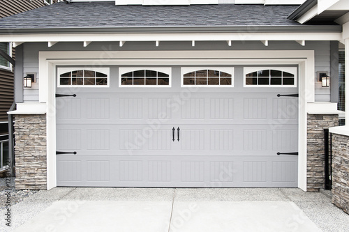 Garage Door Wallpaper Mural