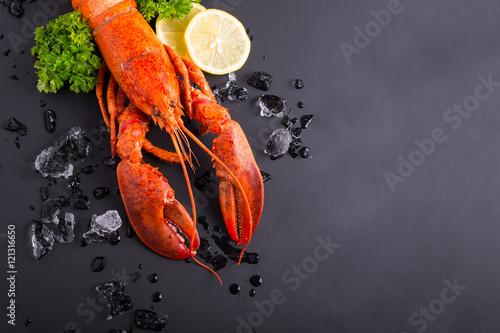 Foto Canadian lobster food
