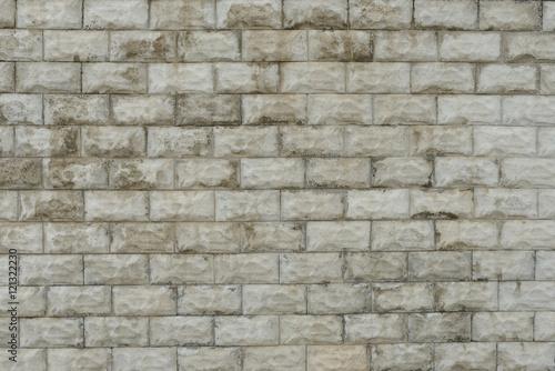 Foto op Aluminium Stenen Brick texture with scratches and cracks