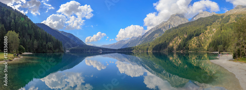 Foto  Antholzer See Panorama