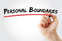 Hand Writing Personal Boundari...