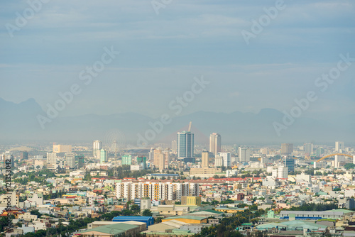 Cadres-photo bureau Bangkok High view of Da Nang city inVietnam