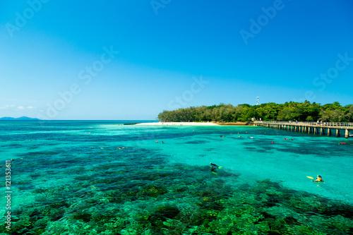 Fotografía  Green Island in Cairns, Queensland, Australia
