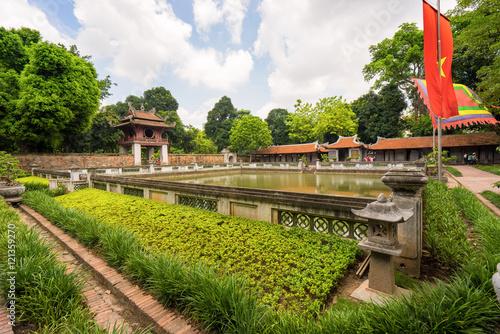 Temple of Literature in Ha Noi