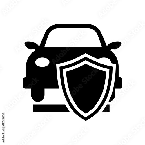 Car Insurance Icon Illustration Buy This Stock Vector And Explore