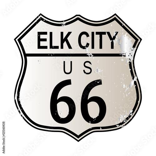 Papiers peints Route 66 Elk City Route 66