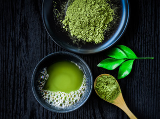 Panel Szklany Orientalny Matcha Tea