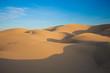canvas print picture - Wüste und Schatten