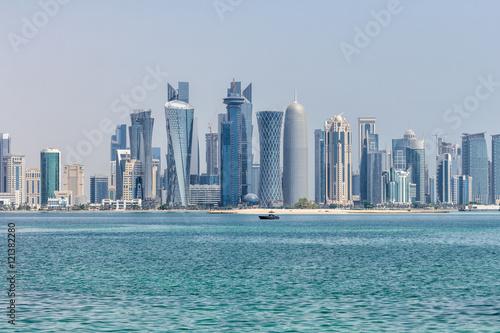 Fényképezés  Doha Skyline