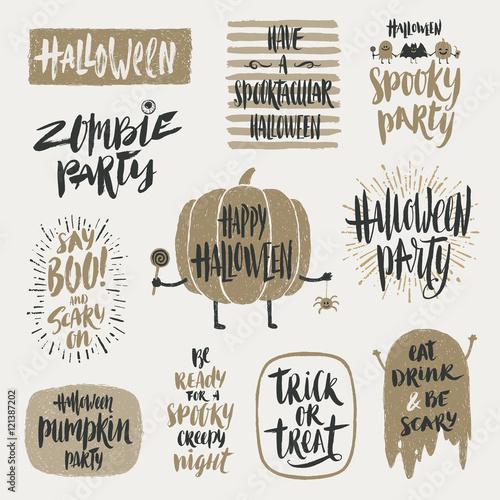 Fotografie, Obraz  Halloween vector illustration