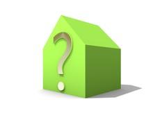 Duurzaam Huis Met Vraagteken
