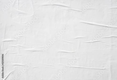 Fotografie, Obraz  crumpled white paper