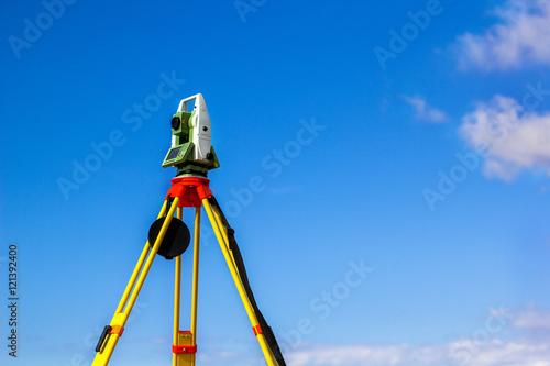Fotografie, Obraz  Survey total station