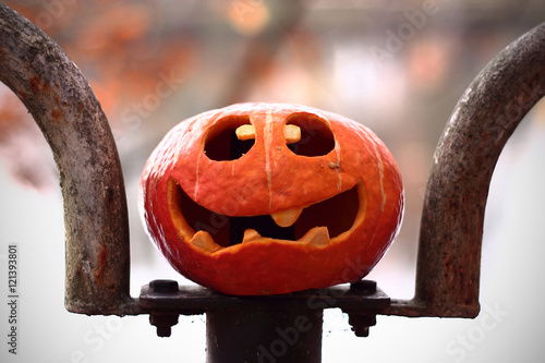Kurbis Halloween Deko Buy This Stock Photo And Explore Similar