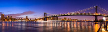 Manhattan Bridge Panorama Mit ...