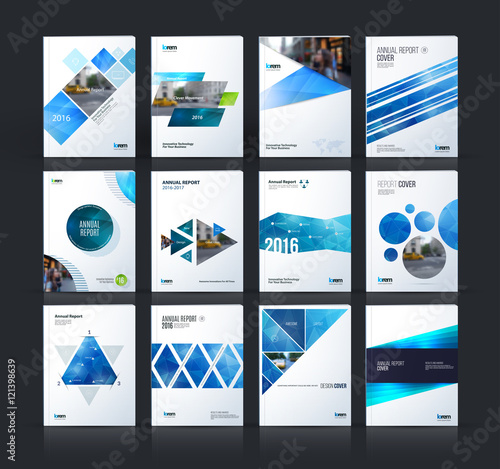 Photo  Brochure template layout, cover design annual report, magazine,