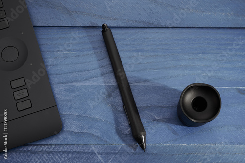 Surprising Black Handle From A Professional Graphic Tablet Buy This Download Free Architecture Designs Scobabritishbridgeorg