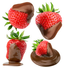 Collection Of Strawberries In ...