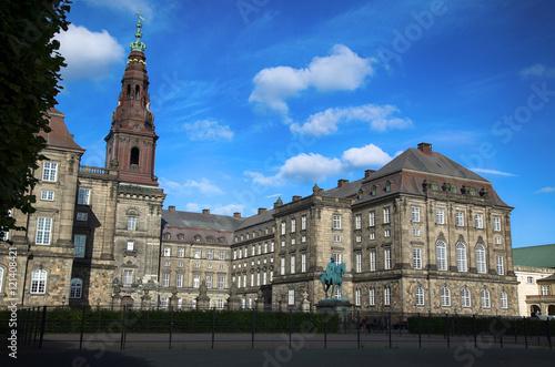 Spoed Foto op Canvas Theater Christiansborg Palace in Copenhagen, Denmark