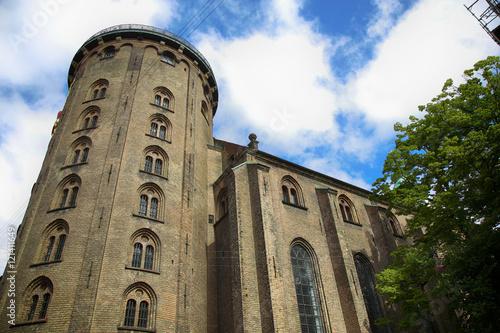 Photo  The Rundetaarn (Round Tower) in central Copenhagen, Denmark