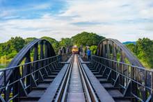 Bridge On The River Kwai, Kanchanaburi Province,Thailand.