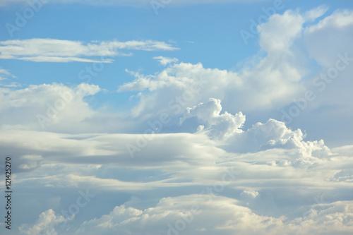 niebo i chmury - fototapety na wymiar