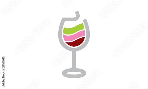 Fototapeta wineglass 02