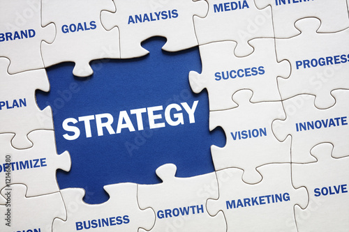 Fotografie, Obraz  Business strategy