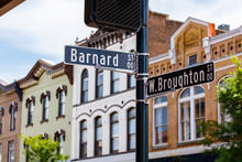 Downtown Savannah Cityscape