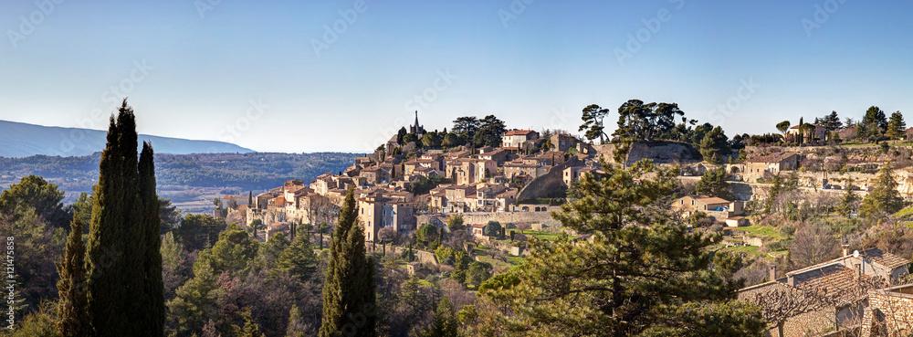 Fototapety, obrazy: Panorama de Bonnieux - Provence - Vaucluse