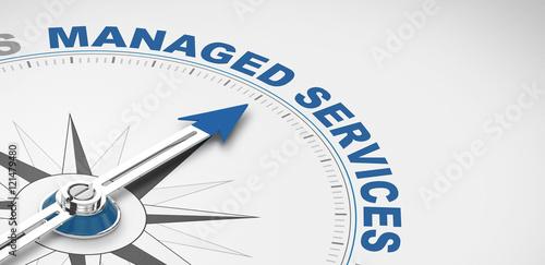 Fototapeta managed services
