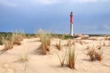 Dunes Et Phare De La Coubre