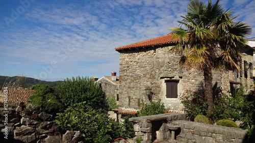 miasto Hum Chorwacja - stary dom